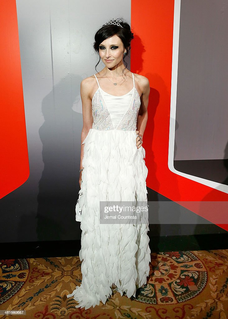 Designer <a gi-track='captionPersonalityLinkClicked' href=/galleries/search?phrase=Stacey+Bendet&family=editorial&specificpeople=821847 ng-click='$event.stopPropagation()'>Stacey Bendet</a> attends The New Museum Annual Spring Gala at Cipriani Wall Street on April 1, 2014 in New York City.