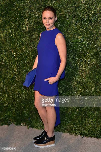 Designer Stella McCartney attends the 11th annual CFDA/Vogue Fashion Fund Awards at Spring Studios on November 3 2014 in New York City