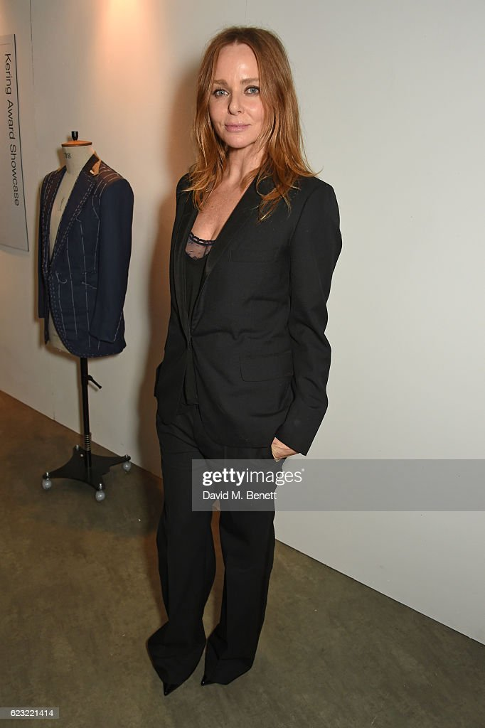 Designer Stella McCartney attends the 2016 Kering Talk at the London College of Fashion on November 14, 2016 in London, England.
