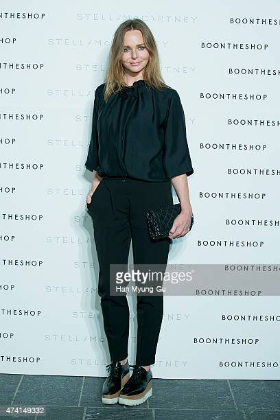 Designer Stella McCartney attends the photocall for Stella McCartney 'The World Of Stella At BoonTheShop' at Boon The Shop on May 20 2015 in Seoul...