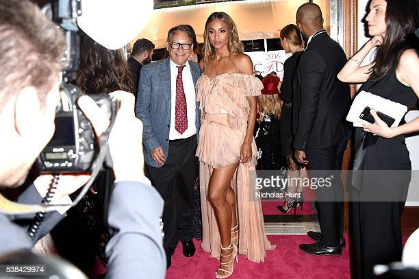 Designer Stuart Weitzman and singer Ciara attend the 2016 CFDA Fashion Awards at the Hammerstein Ballroom on June 6 2016 in New York City