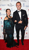 Designer Sue Wong and Prince MarioMax SchaumburgLippe attend the 30th Annual Imagen Awards at the Dorothy Chandler Pavilion on August 21 2015 in Los...