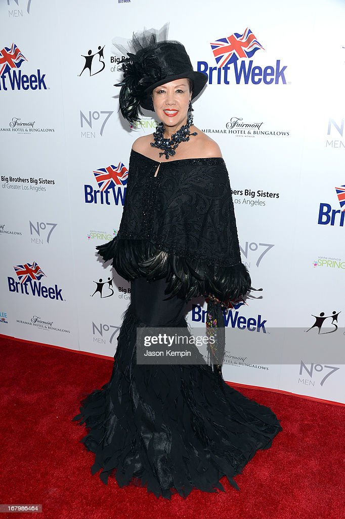 Designer Sue Wong attends BritWeek Celebrates Downton Abbey at The Fairmont Miramar Hotel on May 3, 2013 in Santa Monica, California.