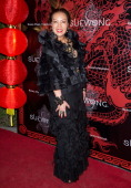 Designer Sue Wong attends Sue Wong hosts party celebrating The Chinese New Year Year of The Horse at The Cedars on January 31 2014 in Los Angeles...