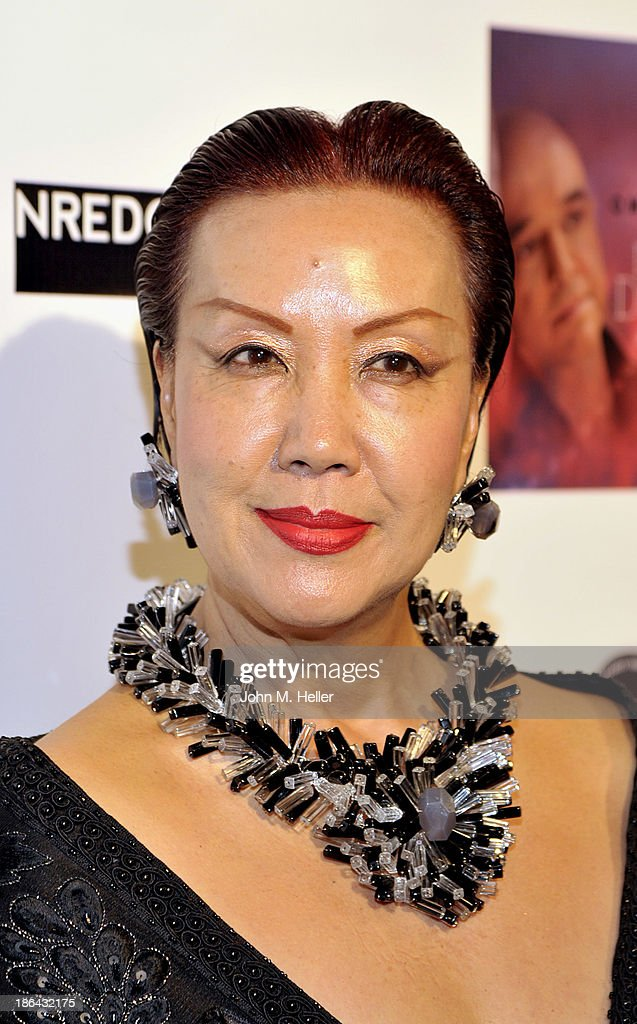 Designer Sue Wong attends the 2013 Grammy Award Winner Omar Akram's album release party for 'Daytime Dreamer' at the House of Music & Entertainment on October 30, 2013 in Beverly Hills, California.