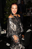Designer Sue Wong attends The Weinstein Company Netflix's 2015 Golden Globes After Party presented by FIJI Water Lexus Laura Mercier and Marie Claire...
