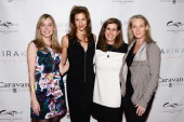 Designer Suz Somersall actress Alysia Reiner President of WPA Tina Daniels and author Piper Kerman attend the 'Orange Is The New Black My Year In...