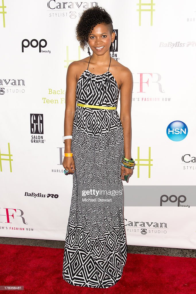 Designer Tabitha St. Bernard attends the 2013 Highline Back To School Teen Fashion Show at the Highline on August 29, 2013 in New York City.