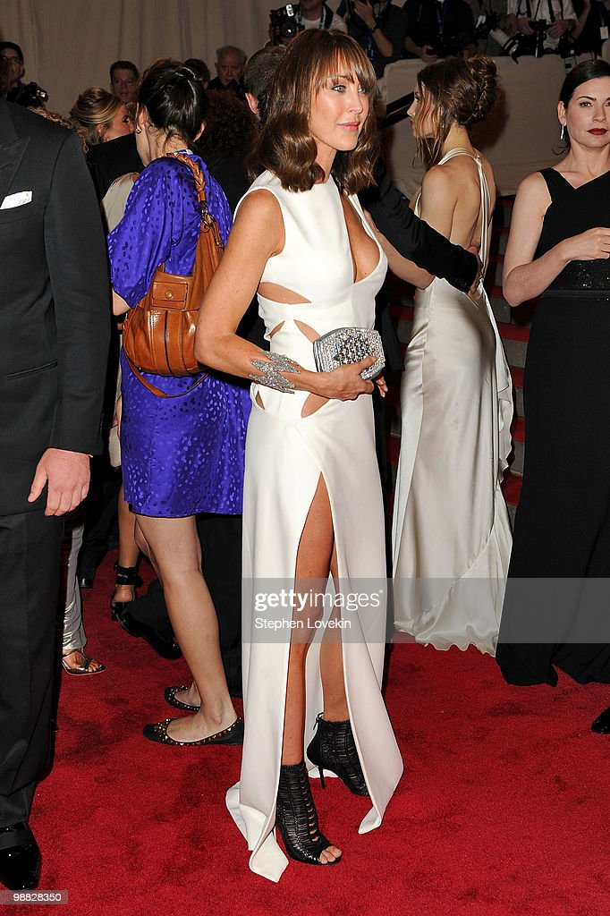 Designer Tamara Mellon attends the Costume Institute Gala Benefit to celebrate the opening of the 'American Woman: Fashioning a National Identity' exhibition at The Metropolitan Museum of Art on May 3, 2010 in New York City.