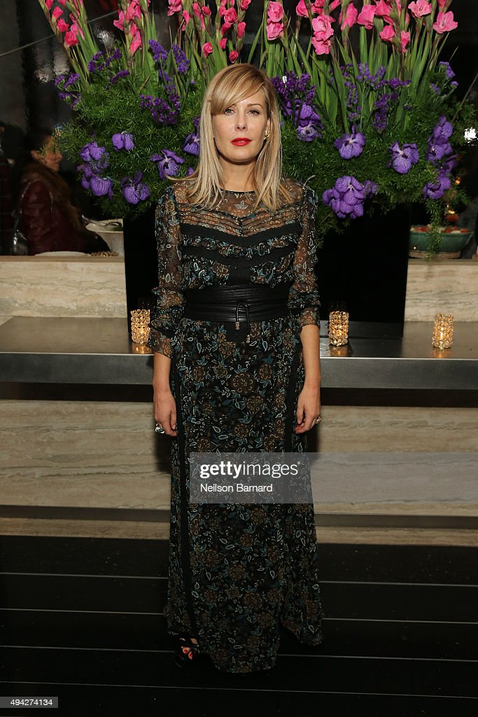 Designer Tara Subkoff attends the Montblanc & The Cinema Society screening of Roadside Attractions & Lionsgate's 'Miss You Already' after party at The Rainbow Room on October 25, 2015 in New York City.