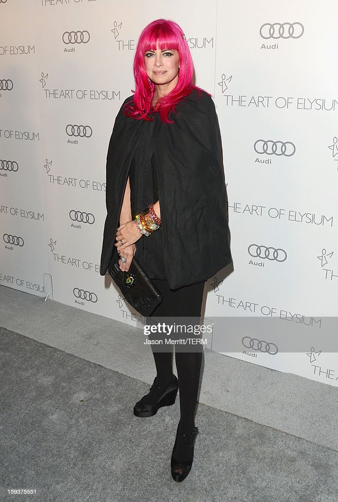 Designer Tarina Tarantino attends The Art of Elysium's 6th Annual HEAVEN Gala presented by Audi at 2nd Street Tunnel on January 12, 2013 in Los Angeles, California.