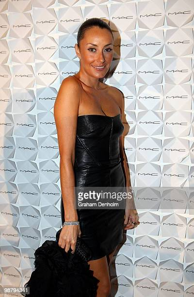 Designer Terry Biviano attends the MAC Celebrates 15 Years Of Rosemount Australian Fashion Week dinner at Luxe Studios on May 2 2010 in Sydney...