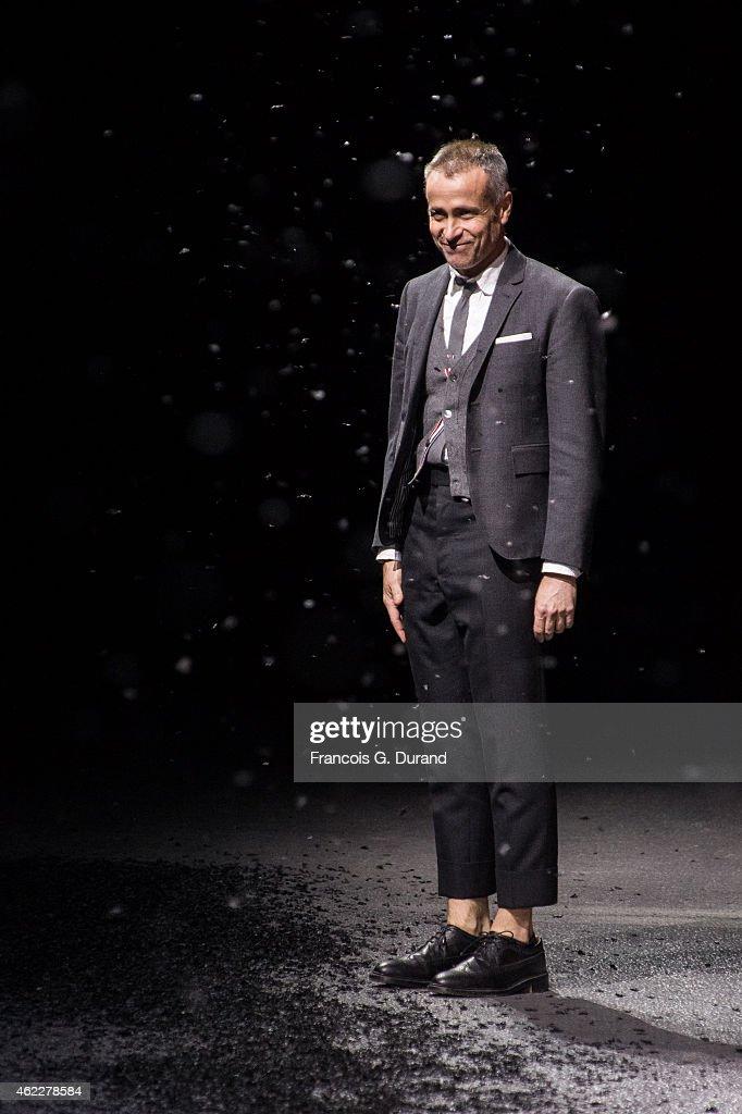 Thom Browne : Runway - Paris Fashion Week - Menswear F/W 2015-2016