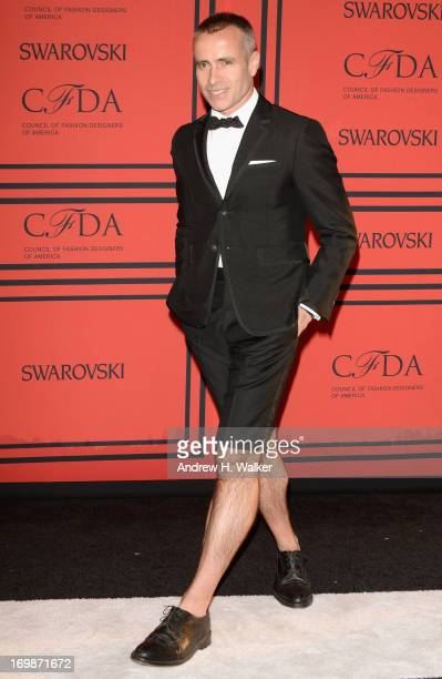 Designer Thom Browne attends the 2013 CFDA Fashion Awards on June 3 2013 in New York United States