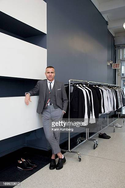Designer Thom Browne photographed for Cicero Magazine on April 22 in New York City PUBLISHED IMAGE