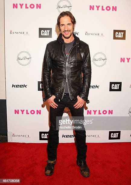 Designer Thomas Hayo attends NYLON Magazine's Spring Fashion Issue Celebration hosted by Rita Ora at Blind Dragon on February 27 2015 in West...