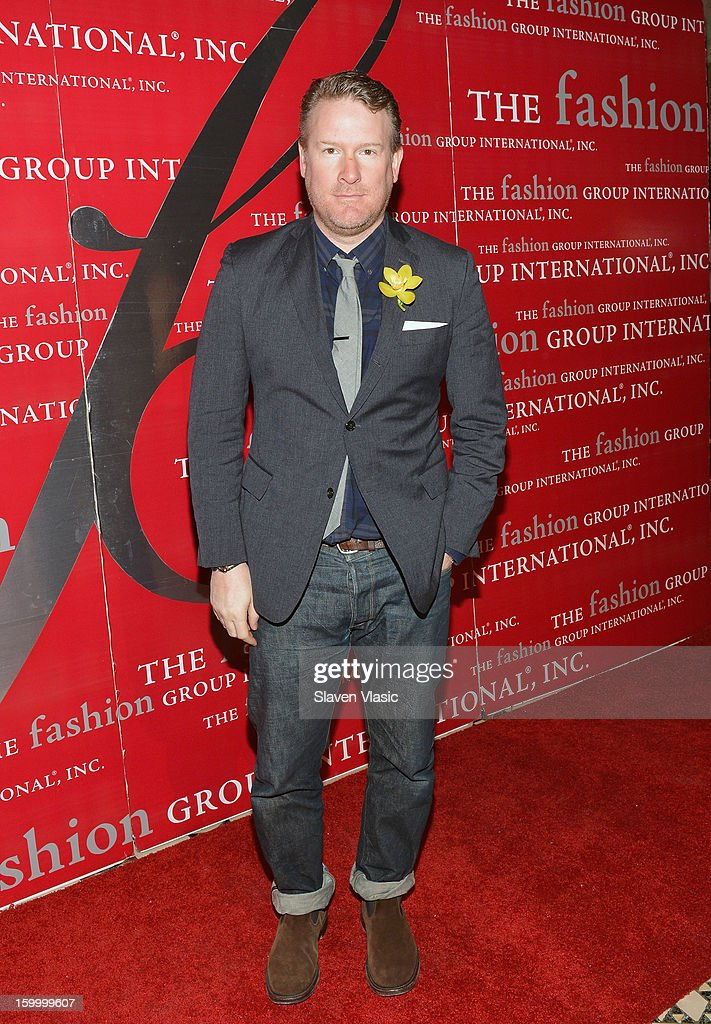 Designer Todd Snyder attends the 15th annual Fashion Group International Rising Star at Cipriani 42nd Street on January 24, 2013 in New York City.