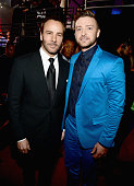 Designer Tom Ford and entertainer Justin Timberlake attend the 2015 iHeartRadio Music Awards which broadcasted live on NBC from The Shrine Auditorium...