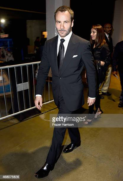Designer Tom Ford attends the 2015 iHeartRadio Music Awards which broadcasted live on NBC from The Shrine Auditorium on March 29 2015 in Los Angeles...