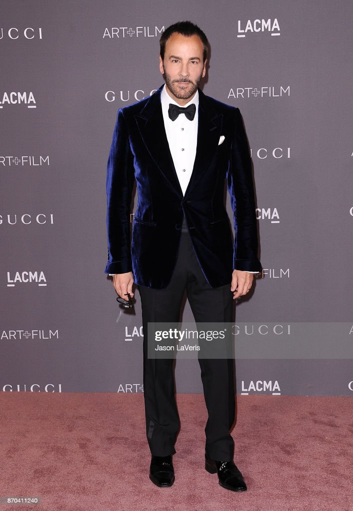 Designer Tom Ford attends the 2017 LACMA Art + Film gala at LACMA on November 4, 2017 in Los Angeles, California.