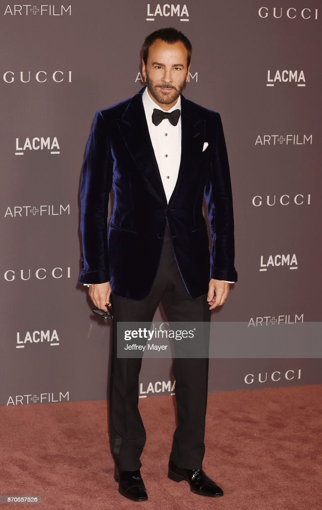 Designer Tom Ford attends the 2017 LACMA Art + Film Gala Honoring Mark Bradford and George Lucas presented by Gucci at LACMA on November 4, 2017 in Los Angeles, California.