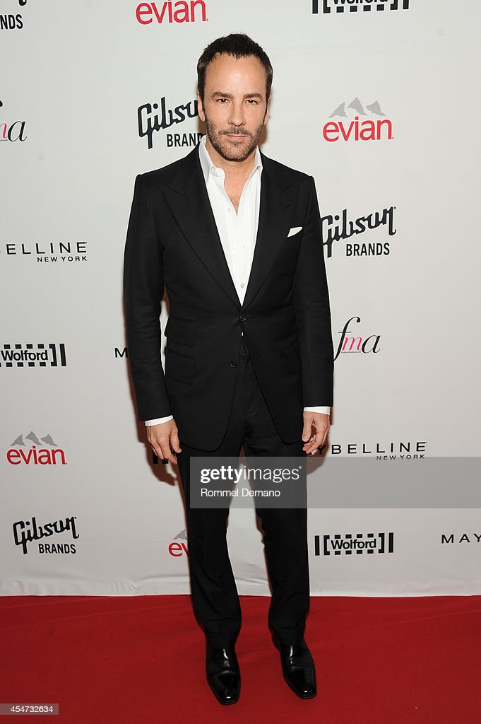 Designer Tom Ford attends The Daily Front Row Second Annual Fashion Media Awards at Park Hyatt New York on September 5 2014 in New York City