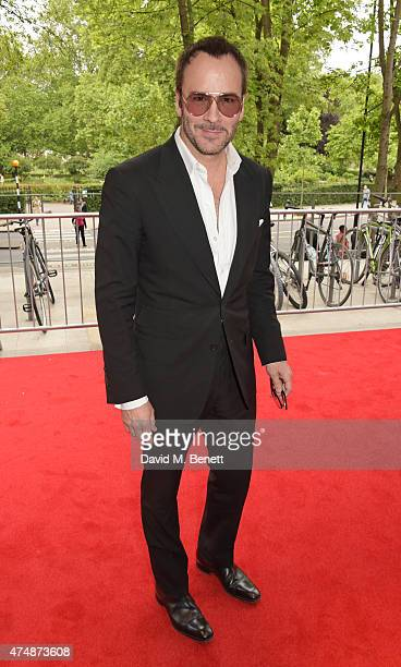Designer Tom Ford attends the London premiere of 'The True Cost' at the Curzon Bloomsbury on May 27 2015 in London England