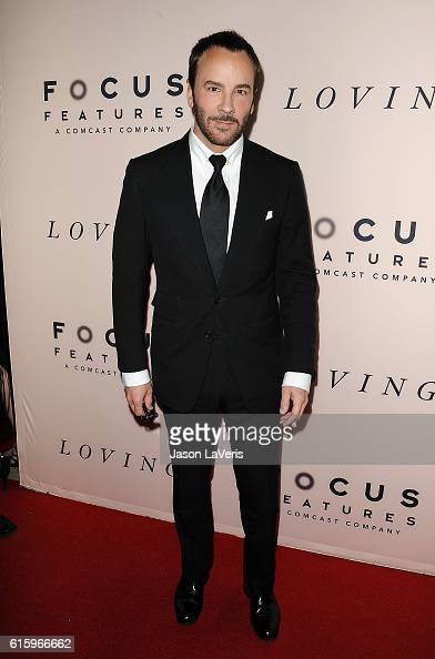 Designer Tom Ford attends the premiere of 'Loving' at Samuel Goldwyn Theater on October 20 2016 in Beverly Hills California