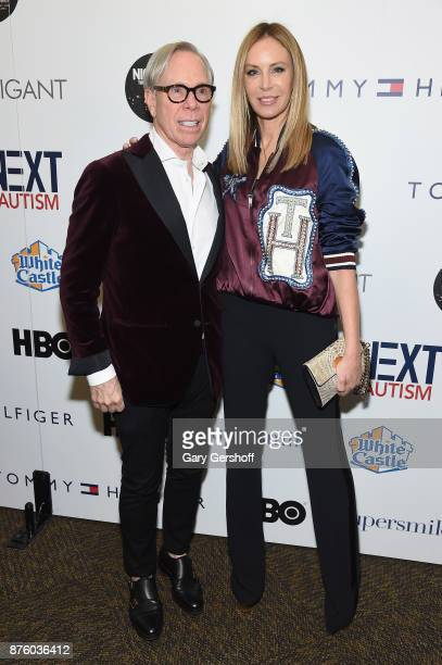 Designer Tommy Hilfiger and Dee Ocleppo Hilfiger attends HBO's Night Of Too Many Stars America Unites For Autism Programs at The Theater at Madison...