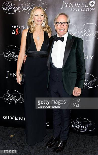 Designer Tommy Hilfiger and wife Dee Ocleppo attend the 10th annual Keep A Child Alive Black Ball at Hammerstein Ballroom on November 7 2013 in New...