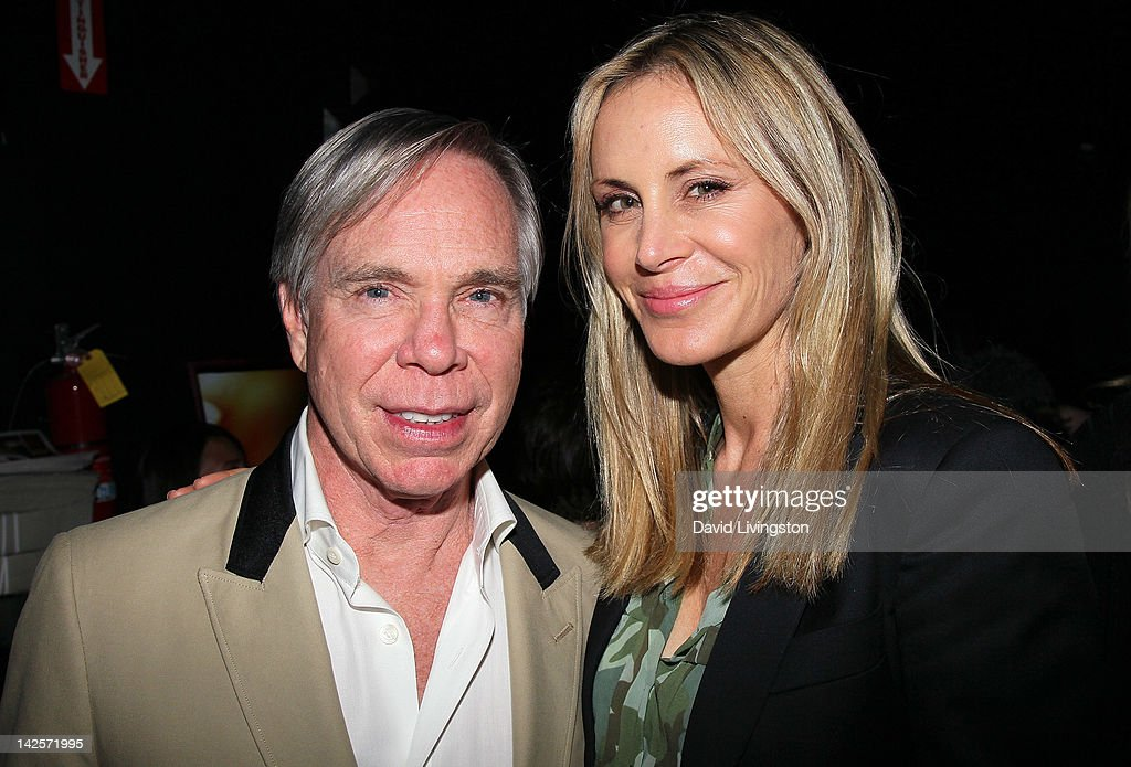 Designer Tommy Hilfiger (L) and wife <a gi-track='captionPersonalityLinkClicked' href=/galleries/search?phrase=Dee+Ocleppo&family=editorial&specificpeople=592235 ng-click='$event.stopPropagation()'>Dee Ocleppo</a> attend The Click Clack Boom performance presented by Andrew Charles and hosted by Andy Hilfiger & Mia Tyler at the Viper Room on April 7, 2012 in West Hollywood, California.