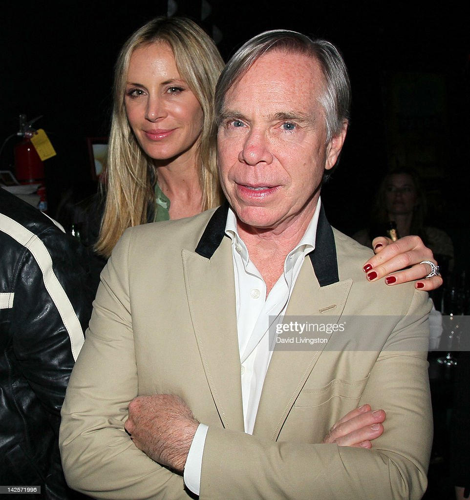 Designer Tommy Hilfiger (R) and wife <a gi-track='captionPersonalityLinkClicked' href=/galleries/search?phrase=Dee+Ocleppo&family=editorial&specificpeople=592235 ng-click='$event.stopPropagation()'>Dee Ocleppo</a> attend The Click Clack Boom performance presented by Andrew Charles and hosted by Andy Hilfiger & Mia Tyler at the Viper Room on April 7, 2012 in West Hollywood, California.