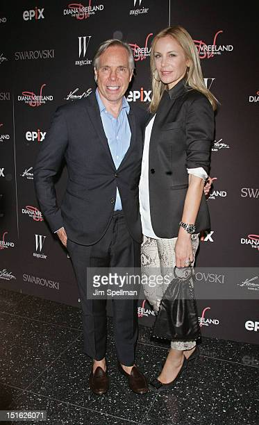 Designer Tommy Hilfiger and wife Dee Ocleppo attend the 'Diana Vreeland The Eye Has to Travel' New York Premiere at the Museum of Modern Art on...