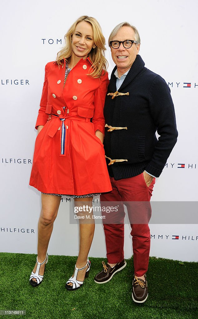 Designer Tommy Hilfiger (R) and wife <a gi-track='captionPersonalityLinkClicked' href=/galleries/search?phrase=Dee+Ocleppo&family=editorial&specificpeople=592235 ng-click='$event.stopPropagation()'>Dee Ocleppo</a> attend the launch of the new Tommy Hilfiger pop up shop at Tommy Hilfiger 'Prep World' Covent Garden on May 5, 2011 in London, England.