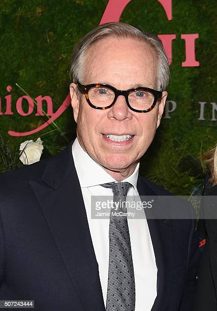 Designer Tommy Hilfiger attends the 19th Annual Fashion Group International Rising Star Awards at Cipriani 42nd Street on January 28 2016 in New York...