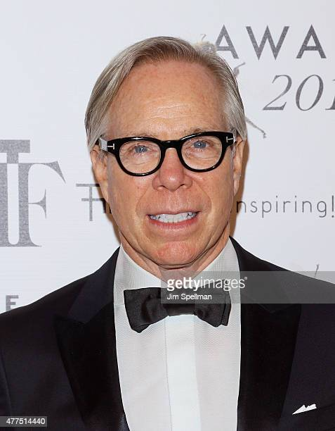 Designer Tommy Hilfiger attends the 2015 Fragrance Foundation Awards at Alice Tully Hall at Lincoln Center on June 17 2015 in New York City
