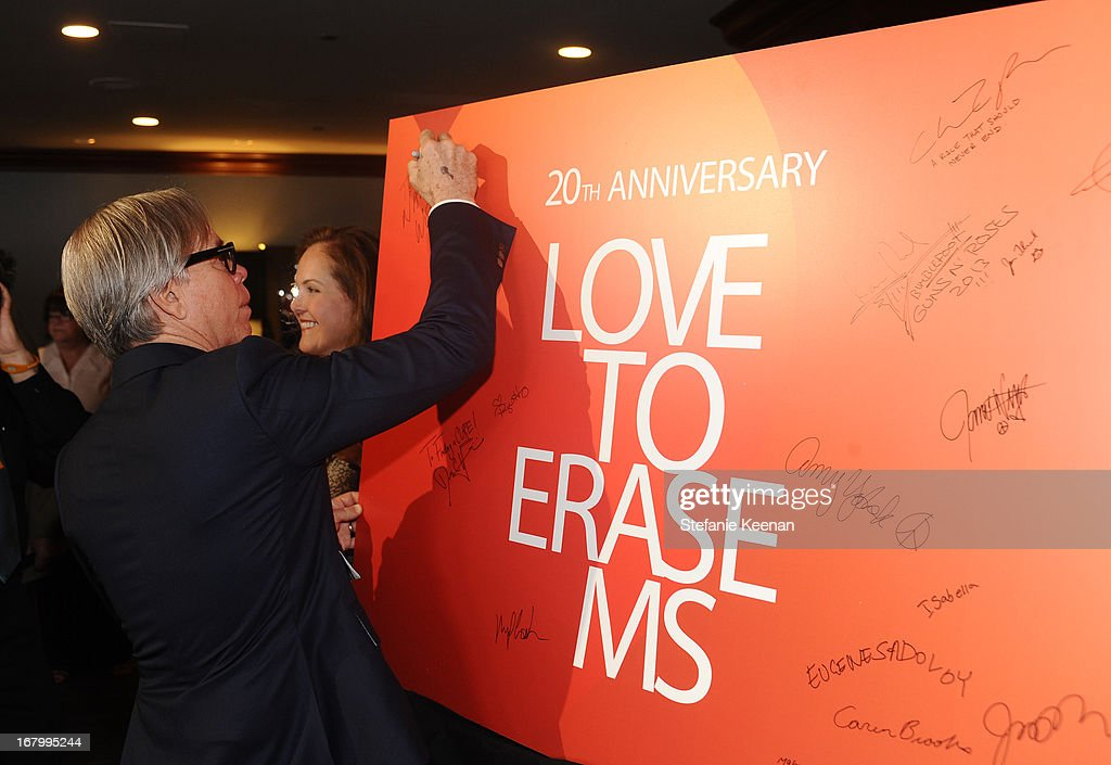 Designer Tommy Hilfiger attends the 20th Annual Race To Erase MS Gala 'Love To Erase MS' at the Hyatt Regency Century Plaza on May 3, 2013 in Century City, California.