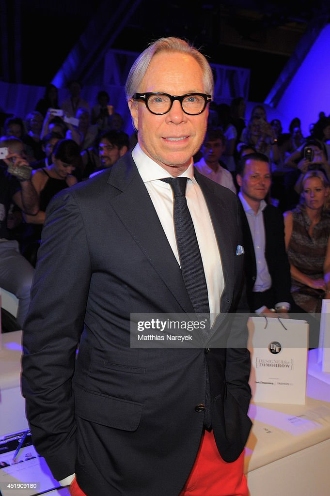 Designer Tommy Hilfiger attends the award show 'Designer for Tomorrow' by Peek Cloppenburg Duesseldorf and Fashion ID as part of MercedesBenz Fashion...