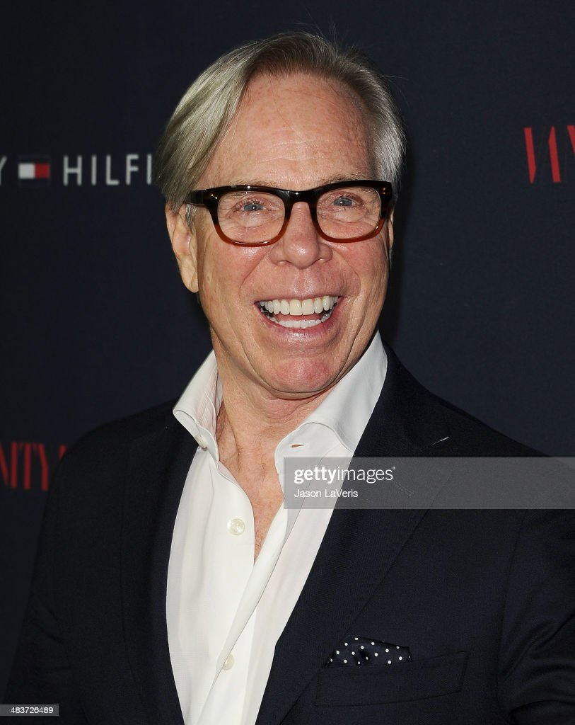 designer tommy hilfiger attends the debut of tommy hilfiger 39 s capsule collection at the london. Black Bedroom Furniture Sets. Home Design Ideas