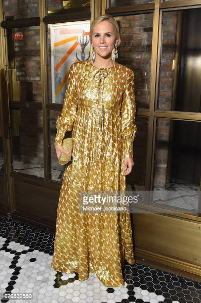 Designer Tory Burch attend cocktails hosted by The Business of Fashion to celebrate BoF's special print edition in America at Beekman Hotel on May 2...
