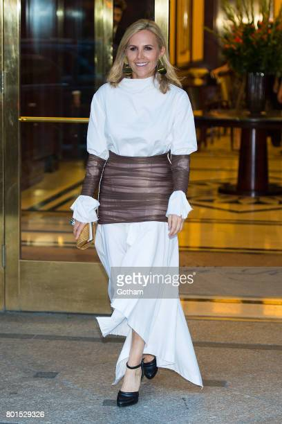 Designer Tory Burch attends a dinner honoring Anna Wintour on June 26 2017 in New York City