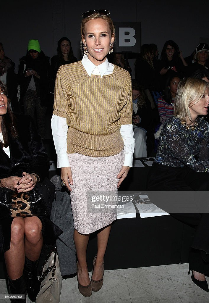 Designer Tory Burch attends Kimberly Ovitz during Fall 2013 Mercedes-Benz Fashion Week at Cafe Rouge on February 7, 2013 in New York City.
