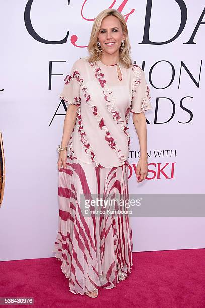 Designer Tory Burch attends the 2016 CFDA Fashion Awards at the Hammerstein Ballroom on June 6 2016 in New York City