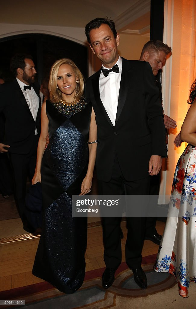 Designer Tory Burch attends the Bloomberg Vanity Fair White House Correspondents' Association (WHCA) dinner afterparty in Washington, D.C., U.S., on Saturday, April 30, 2016. The 102nd WHCA raises money for scholarships and honors the recipients of the organization's journalism awards. Photographer: Andrew Harrer/Bloomberg via Getty Images