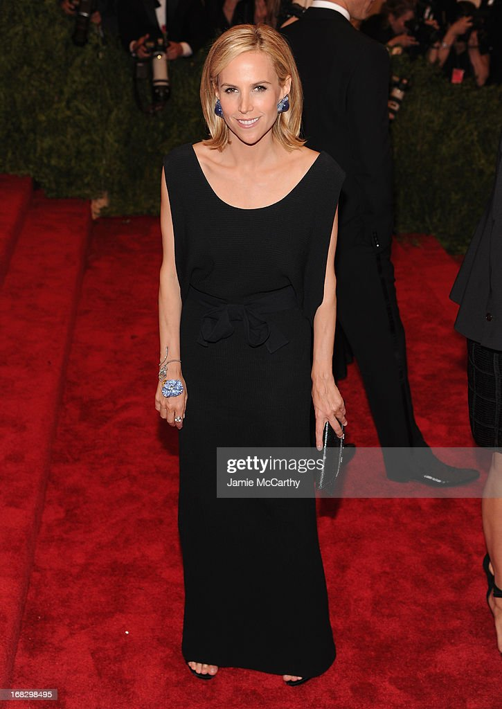 Designer Tory Burch attends the Costume Institute Gala for the 'PUNK: Chaos to Couture' exhibition at the Metropolitan Museum of Art on May 6, 2013 in New York City.