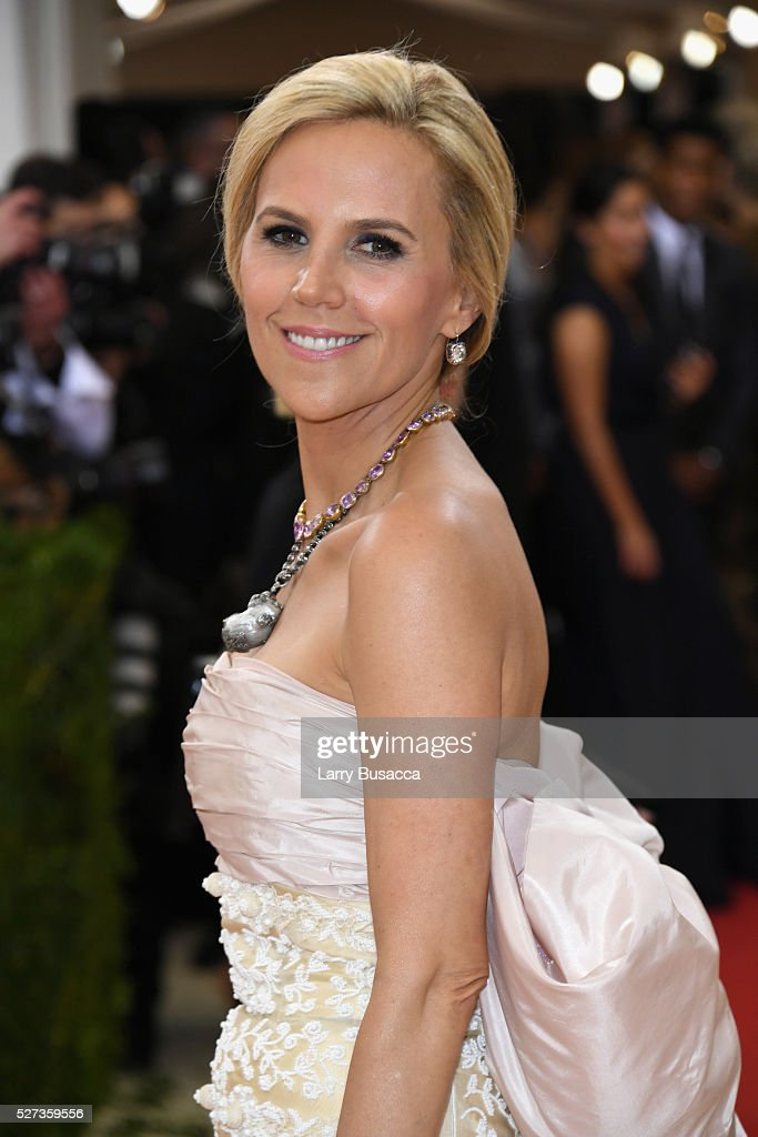 Designer Tory Burch attends the 'Manus x Machina: Fashion In An Age Of Technology' Costume Institute Gala at Metropolitan Museum of Art on May 2, 2016 in New York City.
