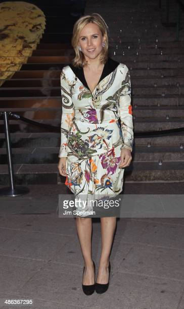Designer Tory Burch attends the Vanity Fair Party during the 2014 Tribeca Film Festival at The State Supreme Courthouse on April 23 2014 in New York...