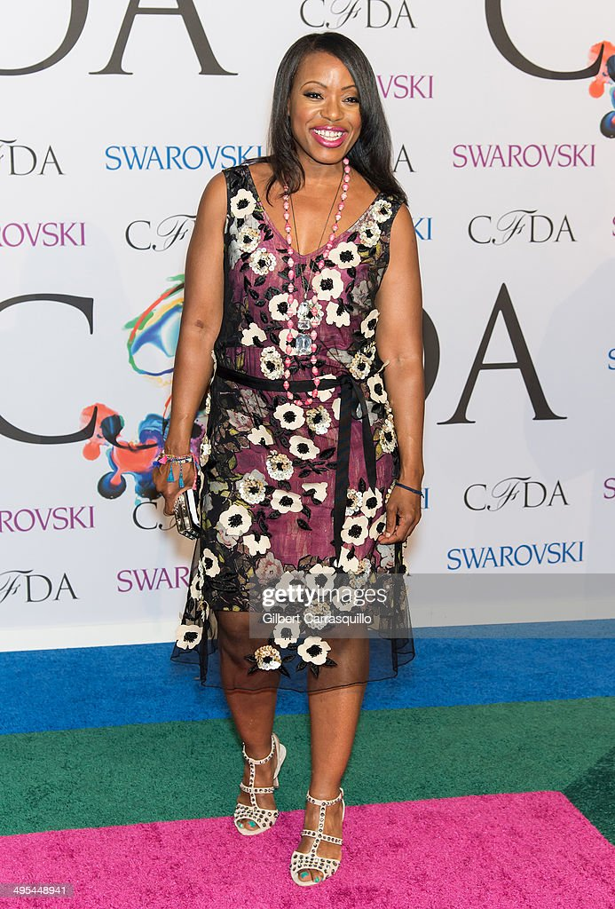 Designer Tracy Reese attends the 2014 CFDA fashion awards at Alice Tully Hall, Lincoln Center on June 2, 2014 in New York City.