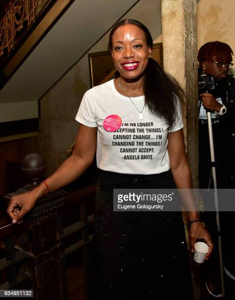 Designer Tracy Reese attends the Tracy Reese Presentation during New York Fashion Week on February 12 2017 in New York City