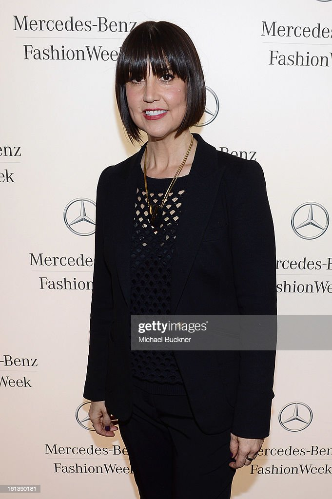 Designer Trina Turk attends the Mercedes-Benz Start Lounge at Lincoln Center on February 10, 2013 in New York City.